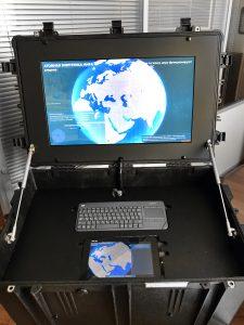 Разработка и поставка специальной мобильной выставочной конструкции «Ядерный чемоданчик»