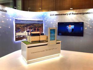Интерактивная выставочная экспозиция «Энергоблок АЭС с реактором БН-800» с технологией